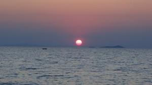Sunset Lake Malawi