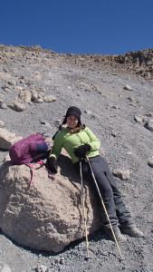 Taking a much needed rock rest