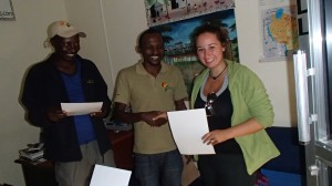 Receivingmy certificate of completion