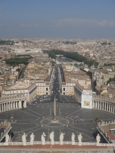 rome from the vatican