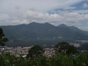 View from El Tenedor del Cerro