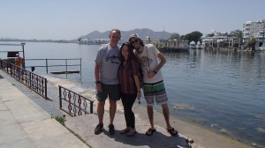 Will from Sotland, met randomly on the street in Jaipur, decided to all go to lunch together, a few weeks later we turned out to be staying in the same hotel in Udaipur