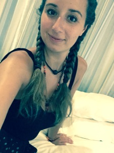 My new braids, courtesy of Suecan <3