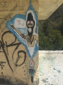 More of my favorite graffiti at the Beatles Ashram